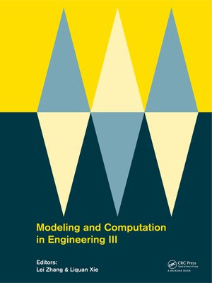cover image of Modeling and Computation in Engineering III