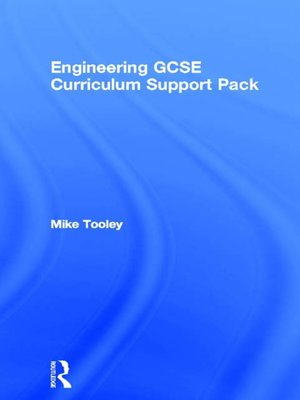 cover image of Engineering GCSE Curriculum Support Pack