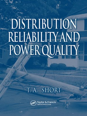cover image of Distribution Reliability and Power Quality