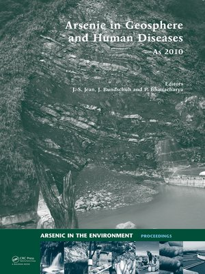 cover image of Arsenic in Geosphere and Human Diseases; Arsenic 2010