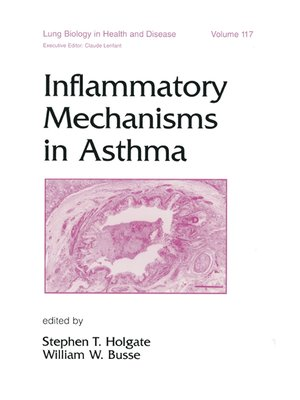 cover image of Inflammatory Mechanisms in Asthma