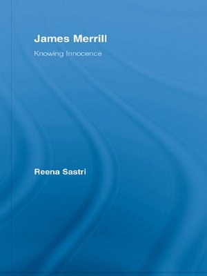 cover image of James Merrill