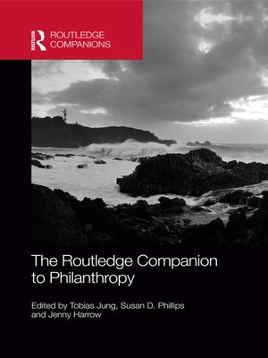 cover image of The Routledge Companion to Philanthropy