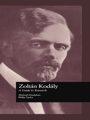 cover image of Zoltan Kodaly