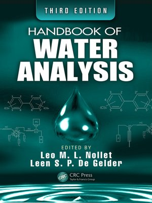 cover image of Handbook of Water Analysis