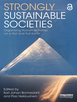 cover image of Strongly Sustainable Societies