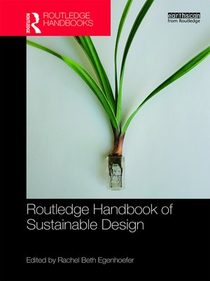 cover image of Routledge Handbook of Sustainable Design