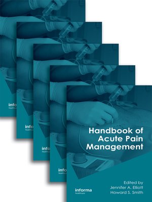 cover image of Handbook of Acute Pain Management