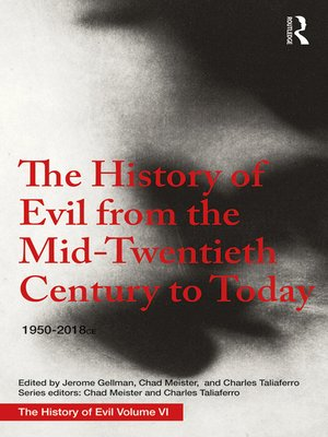cover image of The History of Evil from the Mid-Twentieth Century to Today