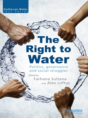 cover image of The Right to Water