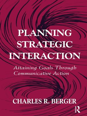 cover image of Planning Strategic Interaction
