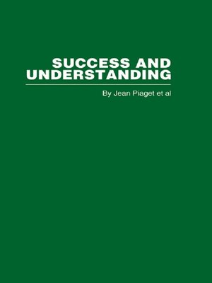 cover image of Success and Understanding