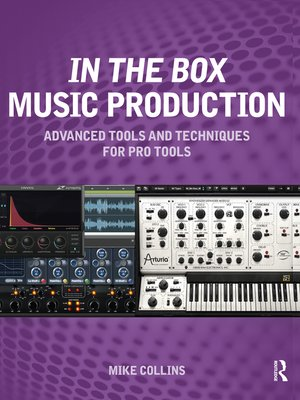 cover image of In the Box Music Production