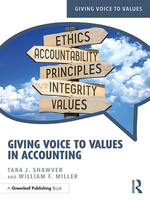 cover image of Giving Voice to Values in Accounting