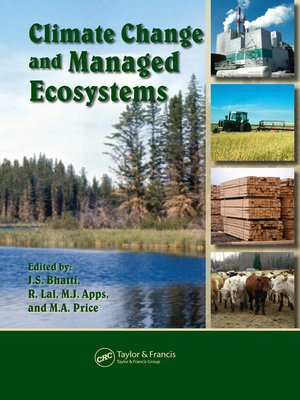cover image of Climate Change and Managed Ecosystems