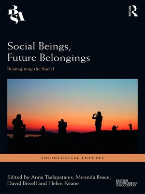 cover image of Social Beings, Future Belongings