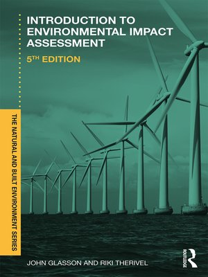 cover image of Introduction to Environmental Impact Assessment