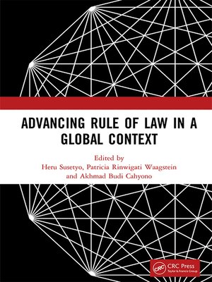 cover image of Advancing Rule of Law in a Global Context