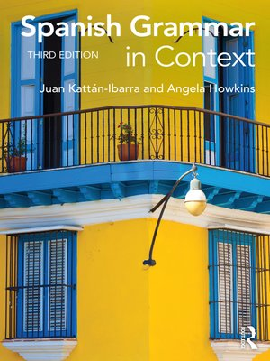 cover image of Spanish Grammar in Context