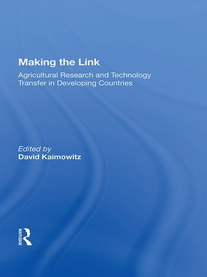 cover image of Making the Link