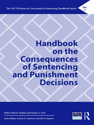 cover image of Handbook on the Consequences of Sentencing and Punishment Decisions