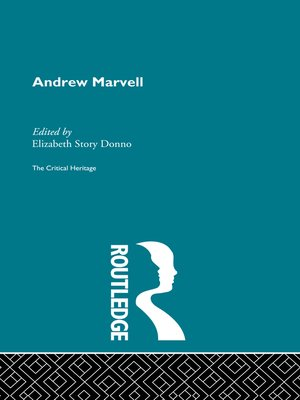 cover image of Andrew Marvell