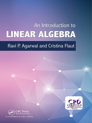 cover image of An Introduction to Linear Algebra