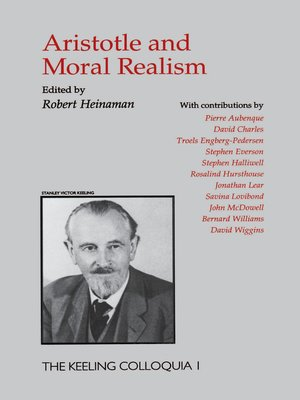 cover image of Aristotle and Moral Realism