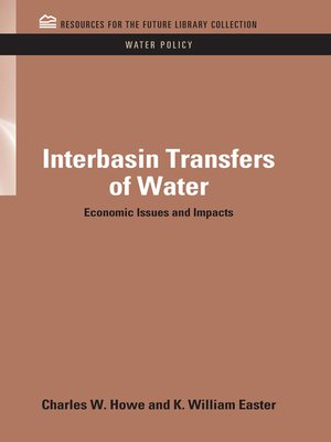 cover image of Interbasin Transfers of Water