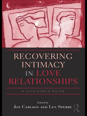 cover image of Recovering Intimacy in Love Relationships