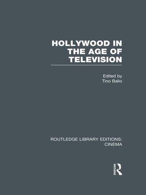 cover image of Hollywood in the Age of Television