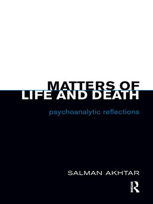 cover image of Matters of Life and Death