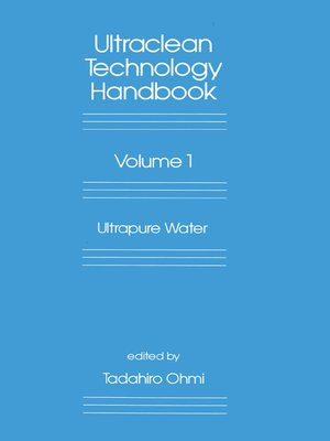cover image of Ultra-Clean Technology Handbook