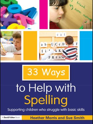 cover image of 33 Ways to Help with Spelling