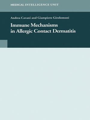 cover image of Immune Mechanisms in Allergic Contact Dermatitis
