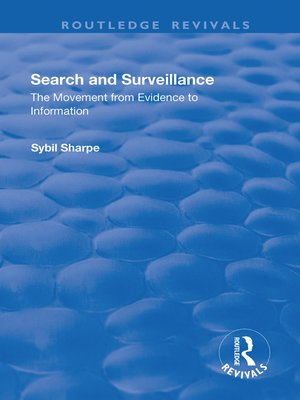 cover image of Search and Surveillance