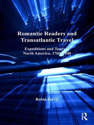 cover image of Romantic Readers and Transatlantic Travel
