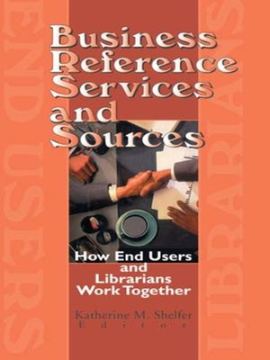 cover image of Business Reference Services and Sources