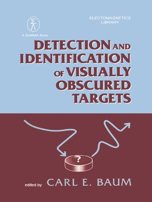 cover image of Detection and Identification of Visually Obscured Targets