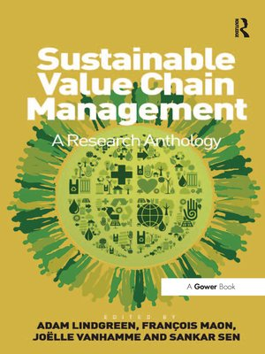 cover image of Sustainable Value Chain Management