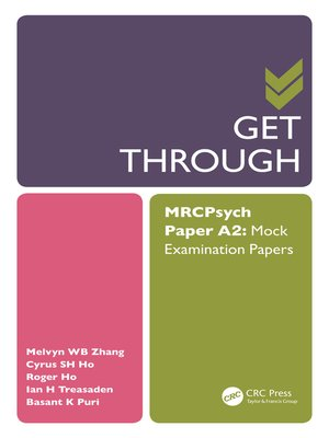 cover image of Get Through MRCPsych Paper A2