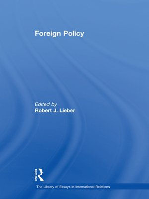 cover image of Foreign Policy