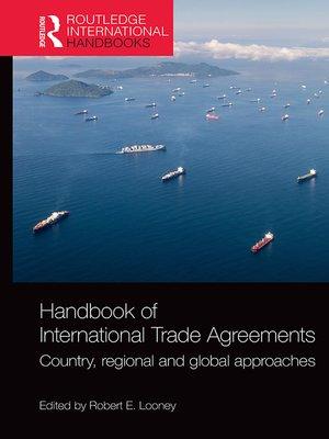 cover image of Handbook of International Trade Agreements