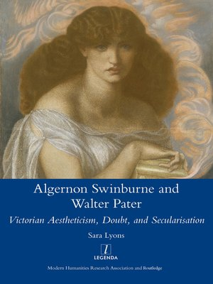 cover image of Algernon Swinburne and Walter Pater