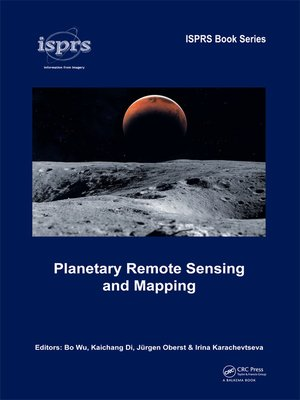 cover image of Planetary Remote Sensing and Mapping