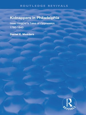 cover image of Kidnappers in Philadelphia