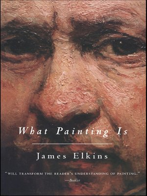 cover image of What Painting Is