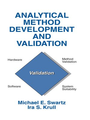 cover image of Analytical Method Development and Validation