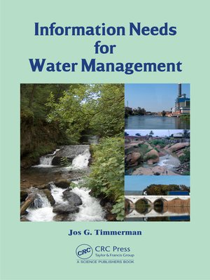 cover image of Information Needs for Water Management