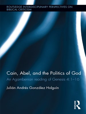 cover image of Cain, Abel, and the Politics of God
